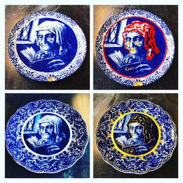 Handbeschilderde borden