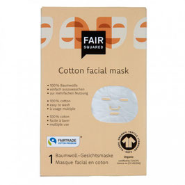 Gesichtsmaske aus Baumwolle - Tuchmaske
