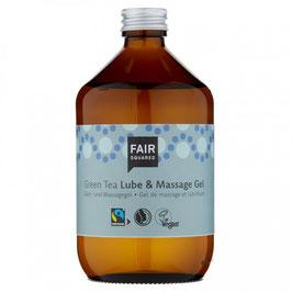 Gleit- und Massagegel Grüner Tee