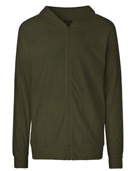 Unisex Hoodie Jersey Zipp (Größe XL - 3 XL)