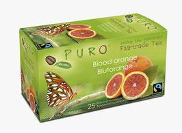 Fairtrade Tee Blutorange