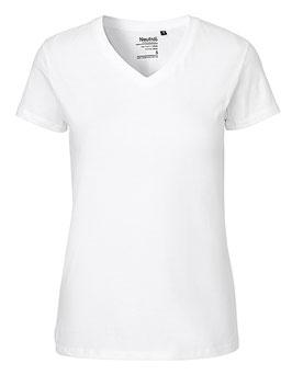 Damen T-Shirt V-Neck (Größe XL - 2XL)