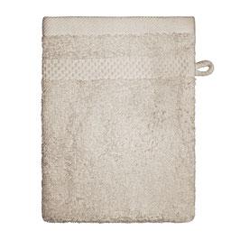 Waschhandschuhe Set (6 Stück) mit Bordüre