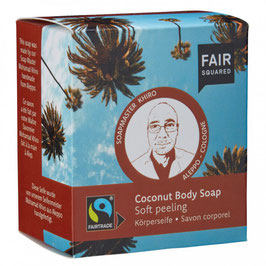 Körperseife Soft-Peeling Kokos - 2 x 80 g