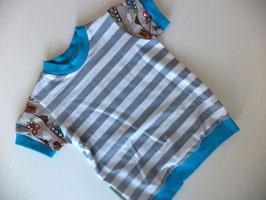 T-Shirt Bagger türkis Gr.74/80