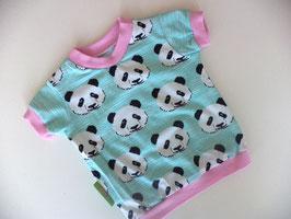 T-Shirt Panda mit rosa Gr.98/104