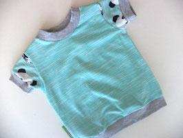 T-Shirt Panda grau 2 Gr.62/68