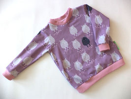 Langarmshirt Schafe rosa Gr.62/68