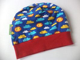 Beanie / Mütze Sonne und Wolken Gr.48-53cm