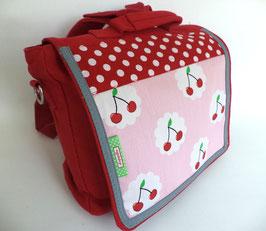 Kindergartentasche / Kinderrucksack mit Kirschen