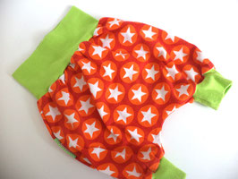 SHORTS* Kurze Pumphose Sterne mit grün Gr.74/80