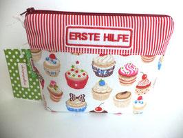 Erste Hilfe-Täschchen Cupcakes