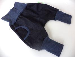 Pumphose Jeans dunkelblau mit Tasche Gr.68/74