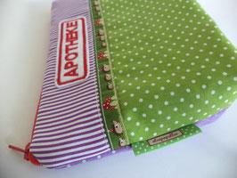 Apotheke Igel grün/lila