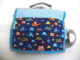Kindergartentasche Autos, Bagger und so