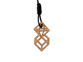 Oktahedron & Hexahedron Pendant