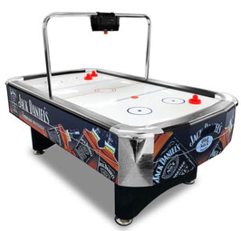 JD LOGO 7FT Air Hockey Table with Bridge Electronic Scorer