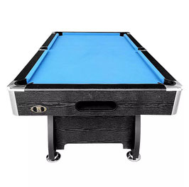 8FT MDF Blue Felt Snooker / Billiard Pool Table Full Accessories | FREE DELIVERY!