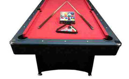 Deluxe 7ft Red Felt With Accessories FREE DELIVERY!