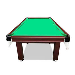 SMART SERIES 8FT MDF Green Pool Table Snooker Billiards Square Leg Accessory Kit
