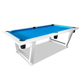 8FT Luxury Slate Outdoor Pool Billiard Snooker Table
