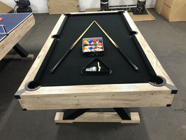 7 FOOT X-PRO SERIES POOL TABLE / DINING TABLE / TABLE TENNIS WITH BLACK FELT