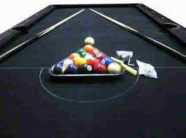 Deluxe 7ft Black Felt With Accessories FREE DELIVERY!