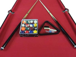 6FT Red Foldable/Fold Away Pool Table FREE DELIVERY!