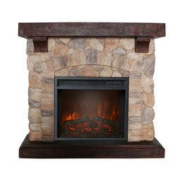 Designer Electric Fireplaces Fully Assembled Various Modes & Remote Control NEW Beige