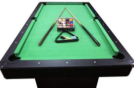 Brand New!! Deluxe 7ft Pool Table With Accessories | FREE DELIVERY! [Green]