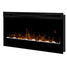 "Dimplex BLF3451 1200W 34"" Wall-Mounted PRISM Electric Fireplace Heater w/Pebbles"