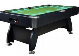 Luxury 8FT MDF LED Billiard/Pool/Snooker Table (Green Felt/Black Frame) FREE DELIVERY!