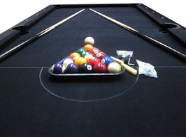 Brand New!! Deluxe 7ft Pool Table With Accessories | FREE DELIVERY! [Black]