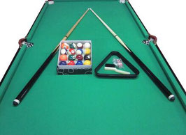 6FT Green Foldable / Fold Away Pool Table Free Delivery!