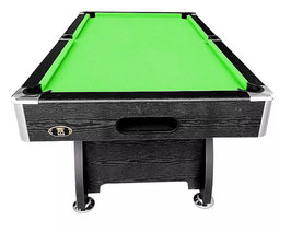 8FT MDF Green Felt Snooker / Billiard Pool Table Full Accessories | FREE DELIVERY!