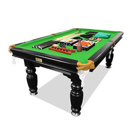 New! 8ft Luxury Green Felt Dark Stained Black Frame Slate Solid Timber Billiards/pool Table Up To 65% Off