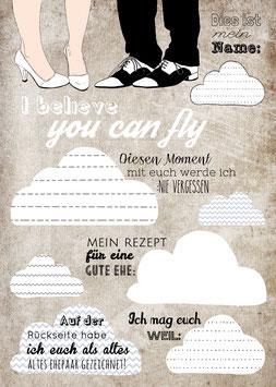 Postkartenspiel für Hochzeiten