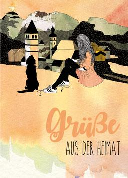 Postkarte 'Heimat'