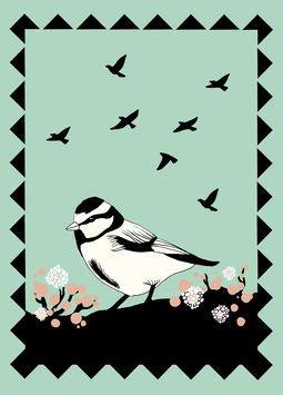 Postkarte 'bird'