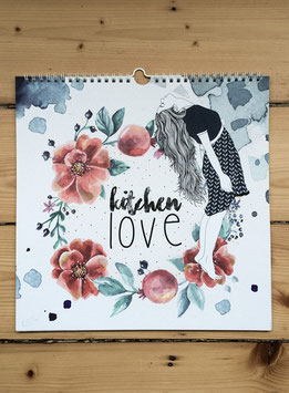 Wandkalender 'kitchenlove'