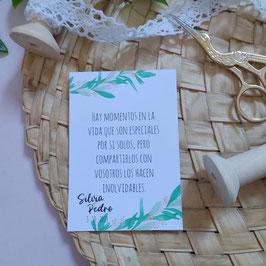 Olivo- Tarjeta
