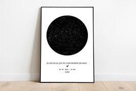 Mapa estelar - FORMATO DIGITAL