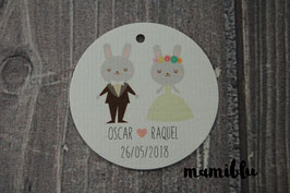 Rabbit couple kit 20 unidades