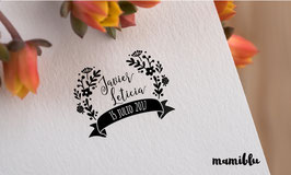 Sello Floral