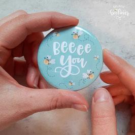 Spiegel-Button Bee you