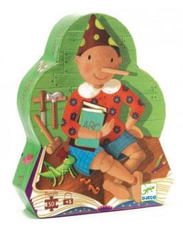 Puzzle Pinocchio 50 pcs +5ans DJECO