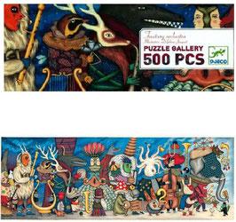 Puzzle Gallery Fantasy Orchestra 500 pièces +8 ans DJECO