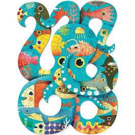Puz'art Octopus 350 pièces +7 ans DJECO