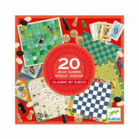 "20 jeux ""Classic By Djeco"""