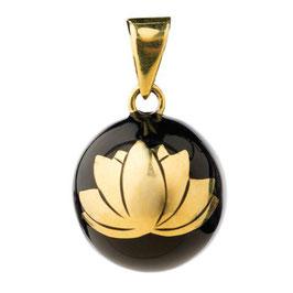 Bola noir Fleur de Lotus BABYLONIA
